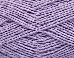 Fiber Content 100% Cotton, Light Lilac, Brand Ice Yarns, Yarn Thickness 3 Light  DK, Light, Worsted, fnt2-44331