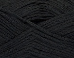 Composition 56% Lin, 44% Coton, Brand Ice Yarns, Black, Yarn Thickness 3 Light  DK, Light, Worsted, fnt2-44854