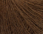 Fiber Content 77% Wool, 23% Polyamide, Brand Ice Yarns, Brown, fnt2-44988