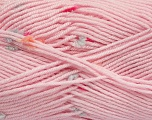 Fiber Content 87% Antipilling Acrylic, 13% Polyester, Orange, Light Pink, Light Blue, Brand Ice Yarns, Fuchsia, Yarn Thickness 3 Light  DK, Light, Worsted, fnt2-45199