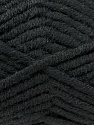 Composition 50% Laine mérinos, 50% Acrylique, Brand KUKA, Black, Yarn Thickness 5 Bulky  Chunky, Craft, Rug, fnt2-16720