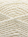 Composition 50% Laine mérinos, 50% Acrylique, White, Brand KUKA, Yarn Thickness 5 Bulky  Chunky, Craft, Rug, fnt2-16722