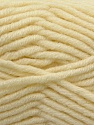 Composition 50% Laine mérinos, 50% Acrylique, Brand KUKA, Cream, Yarn Thickness 5 Bulky  Chunky, Craft, Rug, fnt2-16724