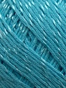 Fiber Content 70% Mercerised Cotton, 30% Viscose, Turquoise, Brand KUKA, Yarn Thickness 2 Fine  Sport, Baby, fnt2-16811