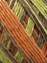 Fiber Content 70% Mercerised Cotton, 30% Viscose, Orange, Brand KUKA, Grey, Brown, Yarn Thickness 2 Fine  Sport, Baby, fnt2-16818
