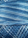 Composition 100% Micro fibre, Brand YarnArt, Blue Shades, Yarn Thickness 0 Lace  Fingering Crochet Thread, fnt2-17329