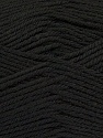 Composition 55% en laine d'agneau, 25% Acrylique, 20% Polyamide, Brand KUKA, Black, Yarn Thickness 3 Light  DK, Light, Worsted, fnt2-17553