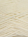 Composition 55% en laine d'agneau, 25% Acrylique, 20% Polyamide, White, Brand KUKA, Yarn Thickness 3 Light  DK, Light, Worsted, fnt2-17554