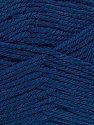 Composition 55% en laine d'agneau, 25% Acrylique, 20% Polyamide, Navy, Brand KUKA, Yarn Thickness 3 Light  DK, Light, Worsted, fnt2-17557