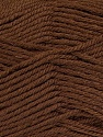 Fiber Content 55% Lambs Wool, 25% Acrylic, 20% Polyamide, Brand KUKA, Brown, Yarn Thickness 3 Light  DK, Light, Worsted, fnt2-17560