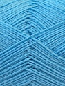 Fiber Content 60% Merino Wool, 40% Acrylic, Light Blue, Brand ICE, Yarn Thickness 2 Fine  Sport, Baby, fnt2-21099