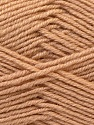 Composition 55% Laine vierge, 5% Cachemire, 40% Acrylique, Light Brown, Brand ICE, Yarn Thickness 2 Fine  Sport, Baby, fnt2-21113