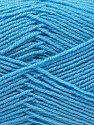 Composition 55% Laine vierge, 5% Cachemire, 40% Acrylique, Light Blue, Brand ICE, Yarn Thickness 2 Fine  Sport, Baby, fnt2-21120