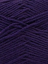 Composition 55% Laine vierge, 5% Cachemire, 40% Acrylique, Purple, Brand ICE, Yarn Thickness 2 Fine  Sport, Baby, fnt2-21128