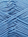 Fiber Content 100% Polyester, Yarn Thickness Other, Light Blue, Brand ICE, fnt2-21647