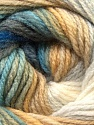 Composition 100% Acrylique, White, Brand ICE, Grey, Camel, Blue, Yarn Thickness 3 Light  DK, Light, Worsted, fnt2-22031