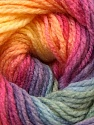 Composition 100% Acrylique, Yellow, Purple, Pink, Multicolor, Brand ICE, Green, Blue, Yarn Thickness 3 Light  DK, Light, Worsted, fnt2-22034