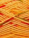 Composition 100% Baby acrylique, Yellow, Red, Brand ICE, Green, Gold, Yarn Thickness 2 Fine  Sport, Baby, fnt2-22041