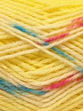 Composition 100% Baby acrylique, Yellow, White, Pink, Brand ICE, Blue, Yarn Thickness 2 Fine  Sport, Baby, fnt2-22042