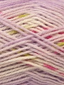 Composition 100% Baby acrylique, White, Pink, Lilac, Brand ICE, Green, Yarn Thickness 2 Fine  Sport, Baby, fnt2-22046