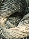 Fiber Content 95% Acrylic, 5% Lurex, Silver, Brand ICE, Grey Shades, Yarn Thickness 3 Light  DK, Light, Worsted, fnt2-22050