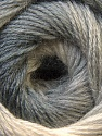 Fiber Content 60% Acrylic, 20% Wool, 20% Angora, Brand ICE, Grey Shades, Yarn Thickness 2 Fine  Sport, Baby, fnt2-22376