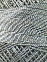 Fiber Content 100% Micro Fiber, Brand YarnArt, Grey, Yarn Thickness 0 Lace  Fingering Crochet Thread, fnt2-22403