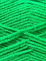 Composition 100% Acrylique, Jungle Green, Brand ICE, Yarn Thickness 3 Light  DK, Light, Worsted, fnt2-22427