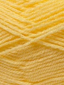 Composition 100% Acrylique, Light Yellow, Brand ICE, Yarn Thickness 3 Light  DK, Light, Worsted, fnt2-22428