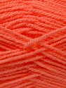 Composition 100% Acrylique, Light Salmon, Brand ICE, Yarn Thickness 3 Light  DK, Light, Worsted, fnt2-22431