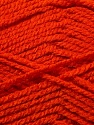 Fiber Content 100% Acrylic, Orange, Brand ICE, Yarn Thickness 3 Light  DK, Light, Worsted, fnt2-22432