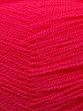 Very thin yarn. It is spinned as two threads. So you will knit as two threads. Fiber Content 100% Acrylic, Brand ICE, Fuchsia, Yarn Thickness 1 SuperFine  Sock, Fingering, Baby, fnt2-22450