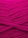 Very thin yarn. It is spinned as two threads. So you will knit as two threads. Composition 100% Acrylique, Brand ICE, Dark Fuchsia, Yarn Thickness 1 SuperFine  Sock, Fingering, Baby, fnt2-22452