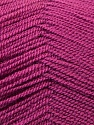Very thin yarn. It is spinned as two threads. So you will knit as two threads. Composition 100% Acrylique, Brand ICE, Dark Rose Pink, Yarn Thickness 1 SuperFine  Sock, Fingering, Baby, fnt2-22453