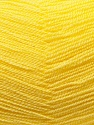 Very thin yarn. It is spinned as two threads. So you will knit as two threads. Composition 100% Acrylique, Yellow, Brand ICE, Yarn Thickness 1 SuperFine  Sock, Fingering, Baby, fnt2-22454