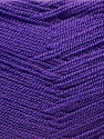Very thin yarn. It is spinned as two threads. So you will knit as two threads. Composition 100% Acrylique, Purple, Brand ICE, Yarn Thickness 1 SuperFine  Sock, Fingering, Baby, fnt2-22456