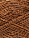 Composition 100% Acrylique, Light Brown, Brand ICE, Yarn Thickness 4 Medium  Worsted, Afghan, Aran, fnt2-22606