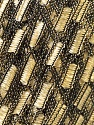 Trellis  Fiber Content 100% Polyester, Brand ICE, Gold, Black, Yarn Thickness 5 Bulky  Chunky, Craft, Rug, fnt2-23167
