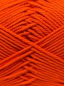Composition 100% Coton mercerisé, Orange, Brand ICE, Yarn Thickness 2 Fine  Sport, Baby, fnt2-23326