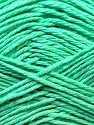 Fiber Content 100% Mercerised Cotton, Mint Green, Brand ICE, Yarn Thickness 2 Fine  Sport, Baby, fnt2-23333