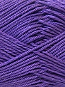 Fiber Content 100% Mercerised Cotton, Purple, Brand ICE, Yarn Thickness 2 Fine  Sport, Baby, fnt2-23335