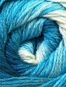 Composition 60% Acrylique, 40% Laine mérinos, Brand ICE, Blue Shades, Yarn Thickness 2 Fine  Sport, Baby, fnt2-23430