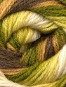 Fiber Content 60% Acrylic, 40% Merino Wool, Brand ICE, Green Shades, Brown Shades, Yarn Thickness 2 Fine  Sport, Baby, fnt2-23432