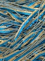 Fiber Content 100% Polyester, Brand ICE, Gold, Blue, Yarn Thickness 2 Fine  Sport, Baby, fnt2-23458