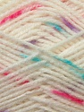 Fiber Content 100% Baby Acrylic, White, Turquoise, Pink, Lilac, Brand ICE, Yarn Thickness 2 Fine  Sport, Baby, fnt2-23498