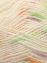Fiber Content 100% Baby Acrylic, White, Orange, Lavender, Brand ICE, Green, Yarn Thickness 2 Fine  Sport, Baby, fnt2-23502