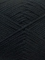 Fiber Content 100% Acrylic, Brand Ice Yarns, Black, Yarn Thickness 2 Fine  Sport, Baby, fnt2-23579