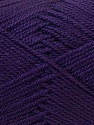 Composition 100% Acrylique, Brand ICE, Dark Purple, Yarn Thickness 2 Fine  Sport, Baby, fnt2-23596