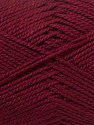 Composition 100% Acrylique, Brand ICE, Burgundy, Yarn Thickness 2 Fine  Sport, Baby, fnt2-23598