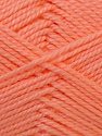 Fiber Content 100% Acrylic, Light Orange, Brand ICE, Yarn Thickness 2 Fine  Sport, Baby, fnt2-23601